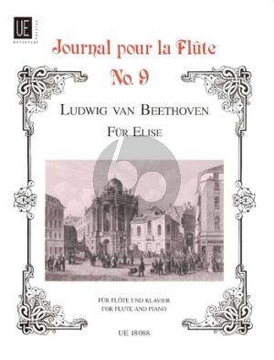 Beethoven Fur Elise WoO 59 Flute-Piano (arr. Hans-Wolfgang Riedel)