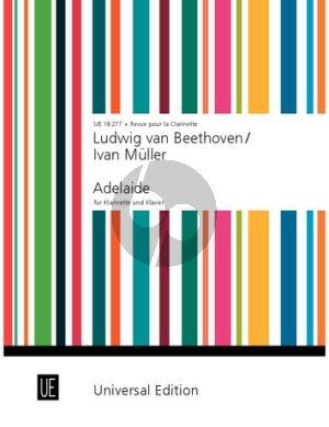 Beethoven Adelaide Klarinette und Klavier (Iwan Muller und Dieter Klöckner)
