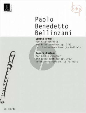 Sonata d-minor Op.3 No.12