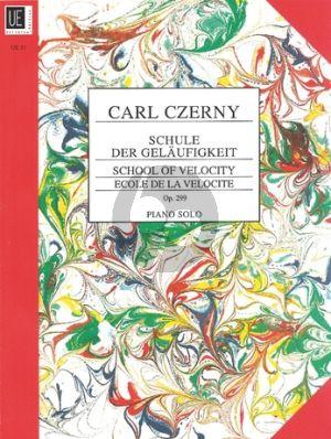 Czerny Schule der Gelaufigkeit op.299 Klavier