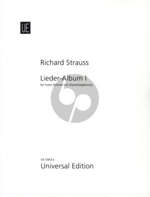 Strauss Lieder Album Vol.1 Hohe Stimme und Klavier (German/English)