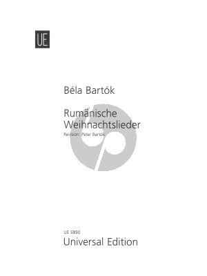 Bartok Rumänische Weihnachtslieder Klavier