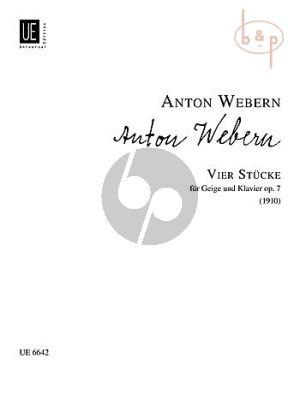 4 Stucke Op.7 Violin-Piano