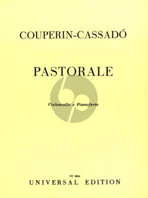 Couperin Pastorale Violoncello-klavier (transcr. Gaspar Cassado)