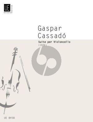 Cassado Suite Violoncello solo