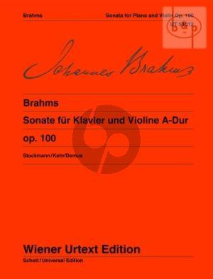 Sonate A-dur Op.100 Violine-Klavier