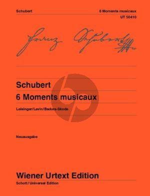 Schubert 6 Moments Musicaux Op.94 (D 780) (Badura-Skoda) (Wiener Urtext)
