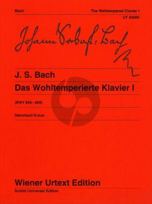 Bach Wohltemperierte Klavier Vol.1 BWV 846 - 869
