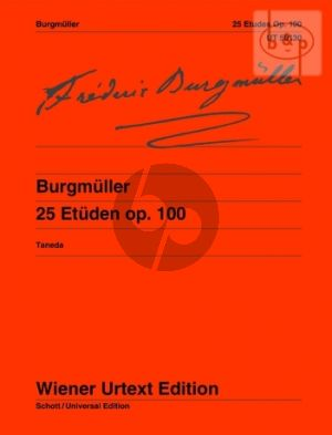 25 Etuden Op.100 Klavier