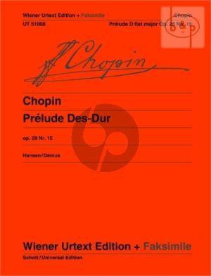 Prélude Des-dur Op.28 No.15