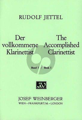 Jettel Der Vollkommene Klarinettist Band 1