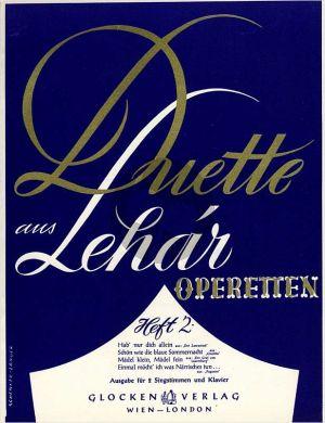 Lehar Duette aus Operetten Vol.2 2 Singstimmen-Klavier