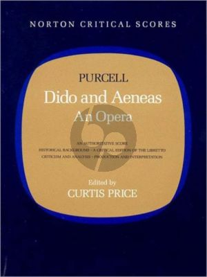 Price Purcell's Dido and Aeneas Norton Critical Scores