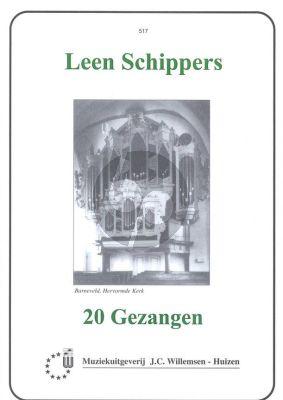 Schippers 20 Gezangen Orgel