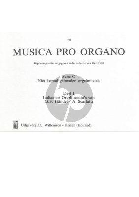Musica pro Organo Serie C Italiaanse Orgeltoccatas