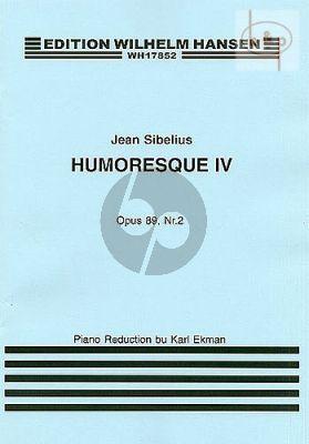 Humoresque No.4 Op.89 No.2 Violoin-Piano