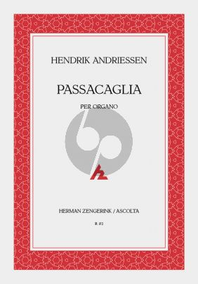 Andriessen Passacaglia Orgel