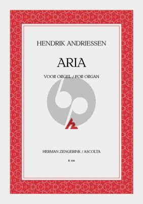 Andriessen Aria voor Orgel (1944)