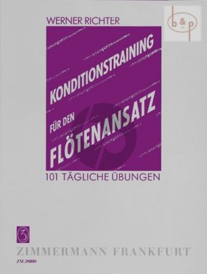 Konditionstraining fur den Flotenansatz