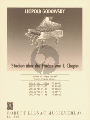 Godowsky 53 Studien über die Etüden von Chopin Band 1 No. 1 - 12A