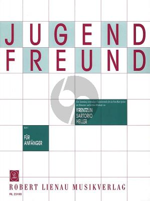 Krentzlin Jugendfreund Vol. 1 Klavier zu 4 Hd