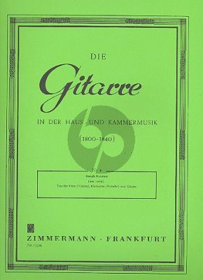 Kreutzer Trio A-dur Op.16 (Flote[Violine]-Klarinette[Viola]-Gitarre)