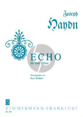 Haydn Echo 2 Flutes (Kurt Walther)