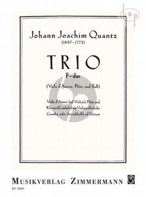 Trio F-dur (Viola d'Amore[Vi.]-Flute-Cembalo) (Vc. ad lib.)