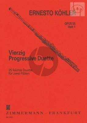 40 Progressive Duette Op.55 Vol.1