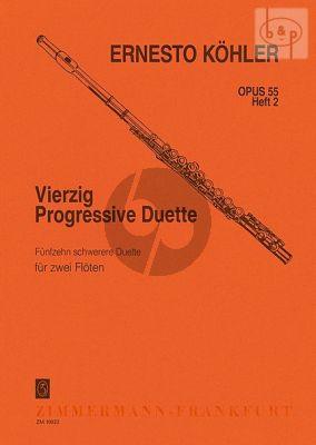 40 Progressive Duette Op.55 Vol.2