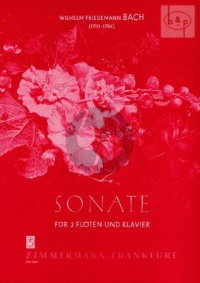 Sonate D-dur Falck 47 (2 Flutes-Piano)