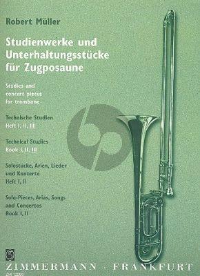 Muller Technische Studien Vol.3 Posaune