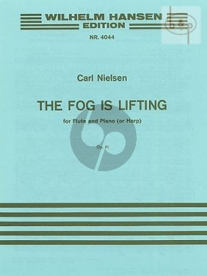 The Fog is Lifting Op. 41 Flute and Piano or Harp