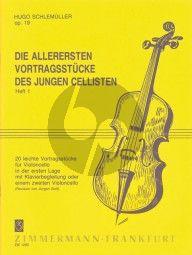 Schlemuller Allerersten Vortragsstücke Op.19 Vol.1