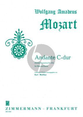 Mozart Andante C-dur KV 315 (mit Kadenz) Flöte-Klavier (Kurt Walter)