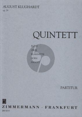 Klughardt Quintett Op.79 5 Blaser Taschenpartitur