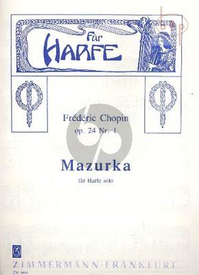 Mazurka Op.24 No.1 Harp