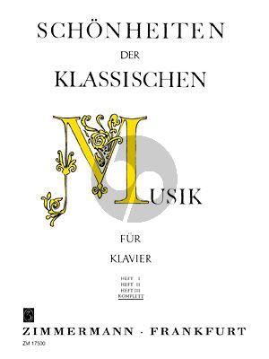 Schönheiten der Klassischen Musik Klavier