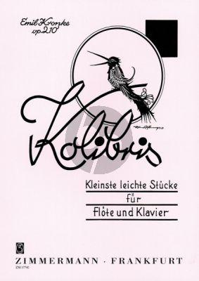 Kronke Kolibris Op.210 (Kleinste leichte Stücke) Flöte-Klavier (grade 1)