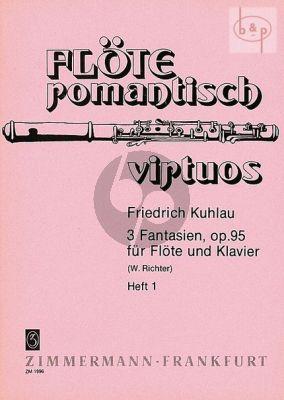 3 Fantasien Op.95 No.1 Flöte und Klavier