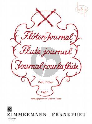 Floten Journal Vol.1 2 Flutes (Dieter H. Forster)