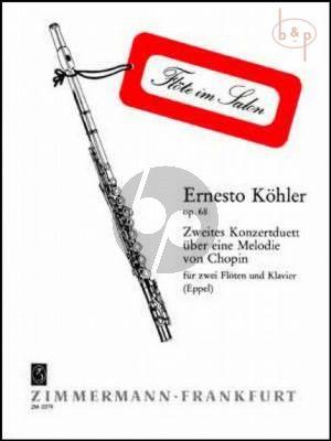 Konzertduett No.2 Op.68 uber ein Melodie von Chopin
