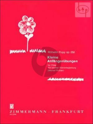 Kleine Anfanger Ubungen Op.258