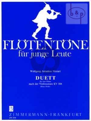 Duet nach Violinsonate KV 304 2 Flöten