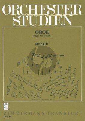 Mozart Orchesterstudien Oboe (Gustav Wangenheim)