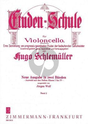 Schlemuller Etuden-Schule Vol.2 Violoncello (Wolf)