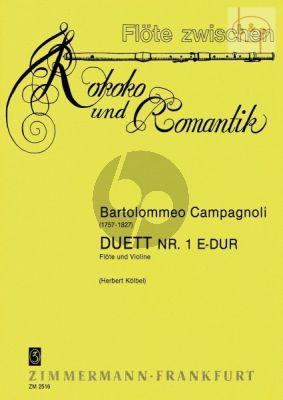 Duet No.1 E-major