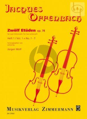 12 Etuden Op.78 Vol.1