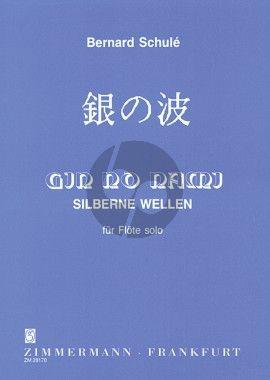 Schule Gin no Nami - Silberne Wellen Op. 152 Flote allein
