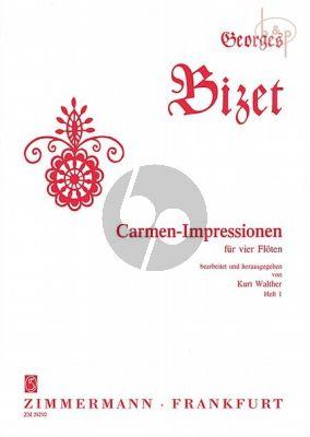 Carmen-Impressionen Vol.1 (4 Flutes)